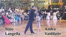 Nino Langella - Andra Vaidilaite | Indonesia Open 2018 - Honorary Dance Rumba Jive