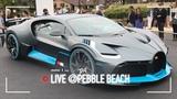 Bugatti Divo 1.500 CV che tolgono il fiato Pebble Beach 2018