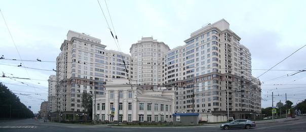 Свеженькая архитектура в стиле Сталинизма.  21 июля 2018