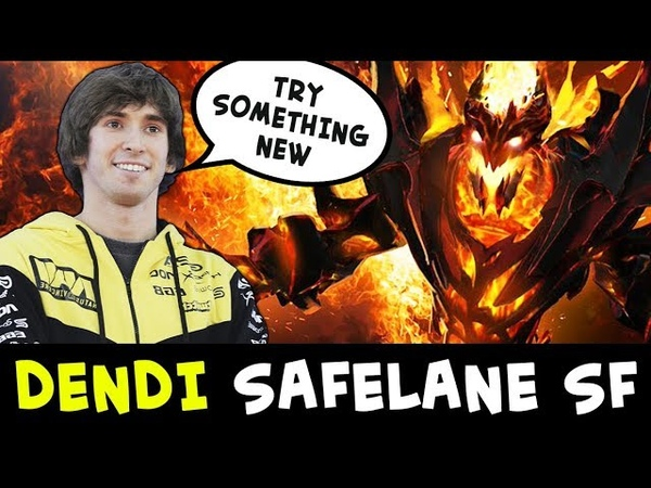 Dendi trying new strats — safelane Shadow Fiend