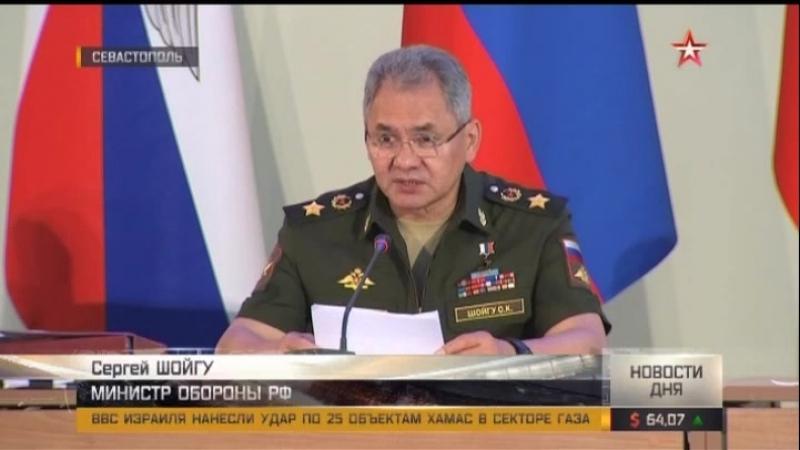 Шойгу НАТО наращивает войска у границ России «на фоне истерии стран Балтии и Польши»
