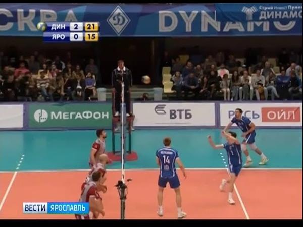 Состав волейбольного клуба «Ярославич» пополнит игрок «Динамо»