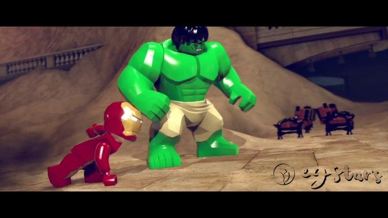 LEGO Marvel Super Heroes - Co-op Walkthrough Part 1 - Sand Central Station