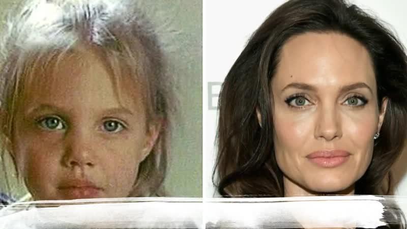 Анджелина Джоли в детстве и сейчас Как выглядит Angelina Jolie Pitt в 2018 году