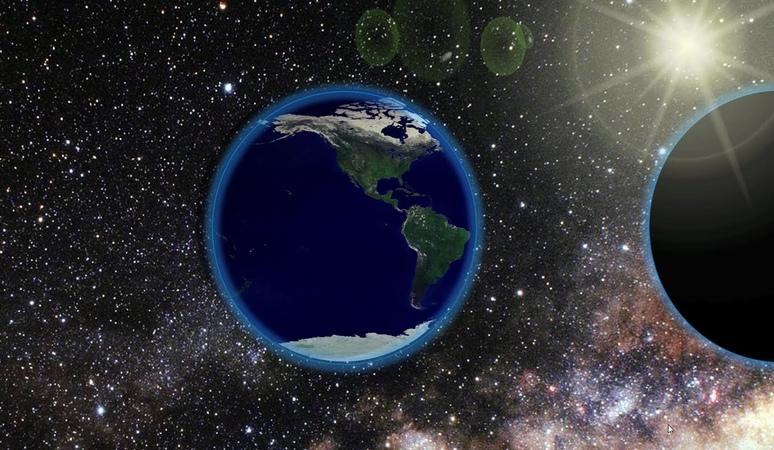 Earth Rotating on Its Axis Animation | PowerPoint 2016 Tutorial | The Teacher