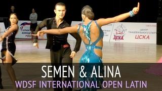 Semen Zenkin & Alina Vorontsova | Cha-cha-cha | WDSF International Open Latin - 2018 CSKA Cup