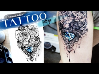 Tattoo story rose brilliant