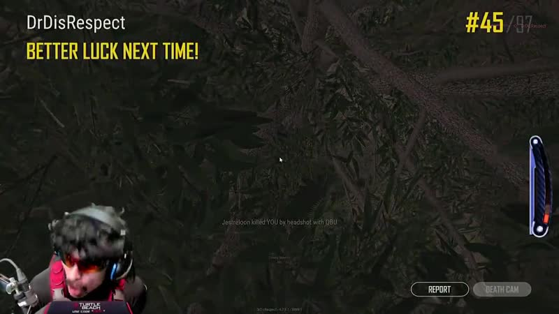 DrDisRespect fucking game