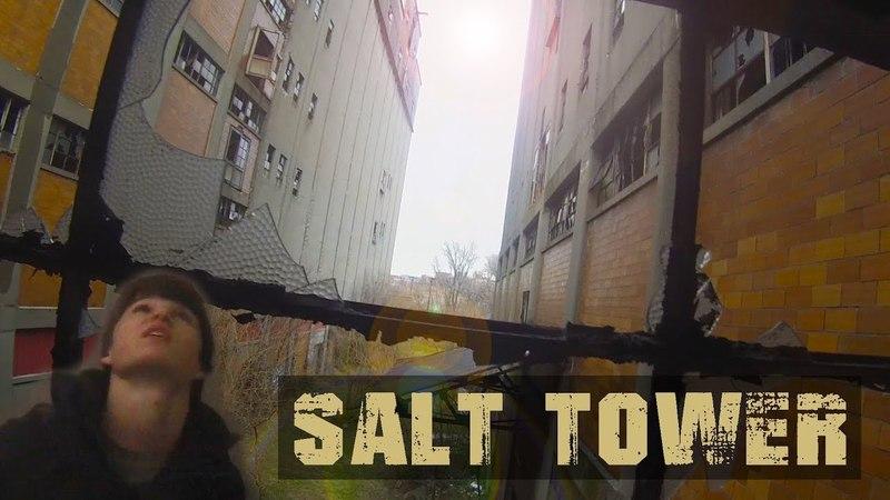 Exploring Abandoned Factory Salt Tower GoPro