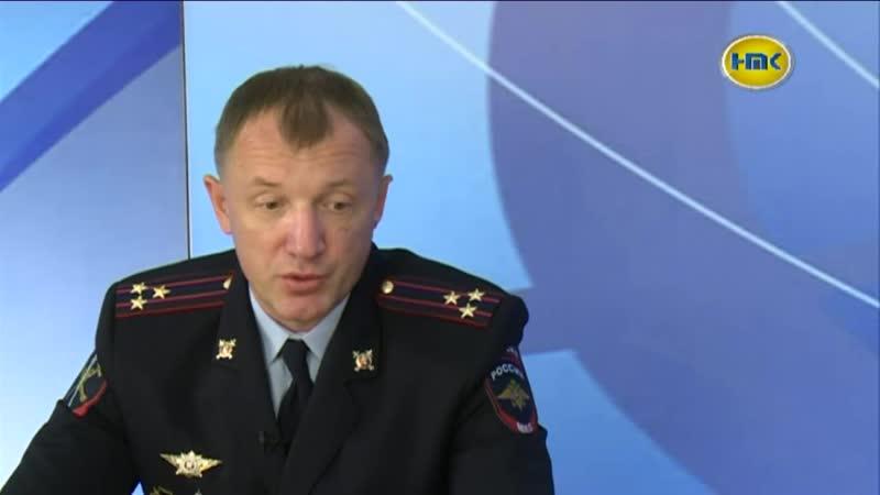 Полицейские будни_ в эфире телеканала НТК в программе Гость в студии