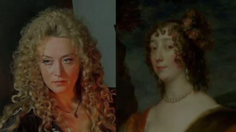 Герои фильма д'Артаньян и Три мушкетёра в подлинных портретах маслом