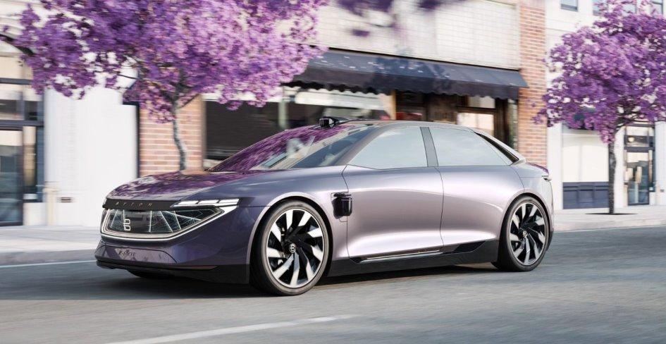 Byton показала новый электромобиль - седан K-Byte - и привлекла $500 млн. инвестиций.