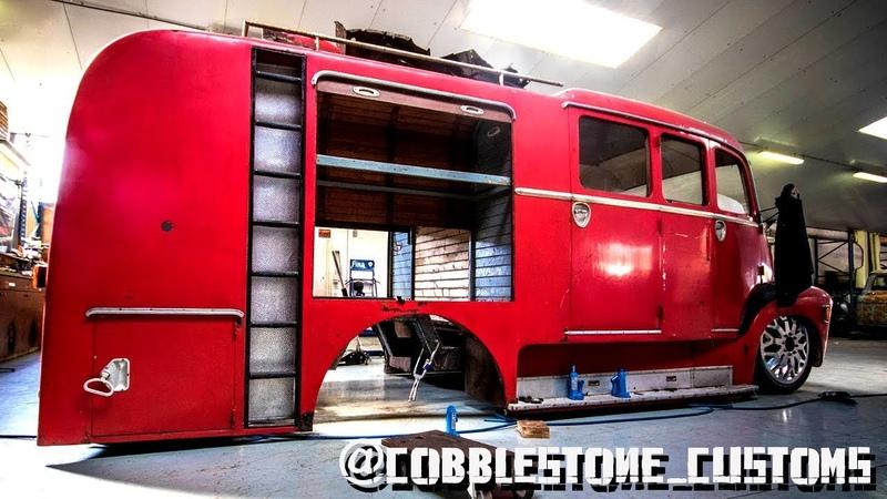55's Chevy Diesel Truck Customization Build Video - Overhaulin Monster Truck Muscle Car Hot Rod