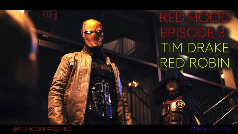 Red Hood: The Fan Series EPISODE 3: Tim Drake - The Red Robin redhood dccomics timdrake batman