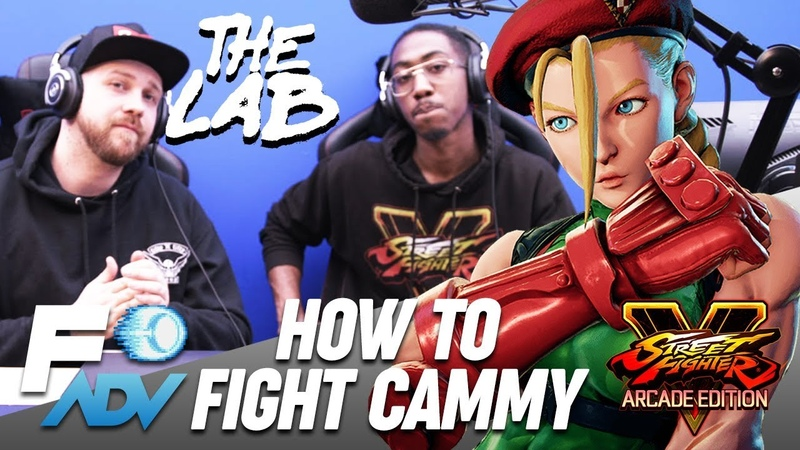 Cammy: The Lab Tutorial by Tyrant and Packz Street Fighter V Arcade Edition
