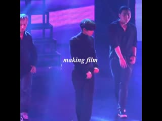 Bae Jinyoung danced to Taemin's Move at his fan meeting today. cr: makingfilm_jy