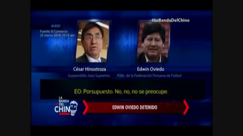 Nota - Edwin oviedo detenido