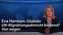 Globaler UN-Migrationspakt nicht bindend Von wegen