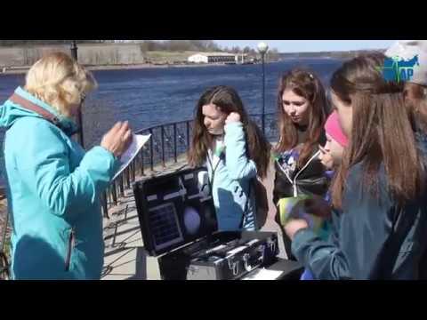 В Ивангороде юные любители природы и экологии провели фестиваль реки Наровы