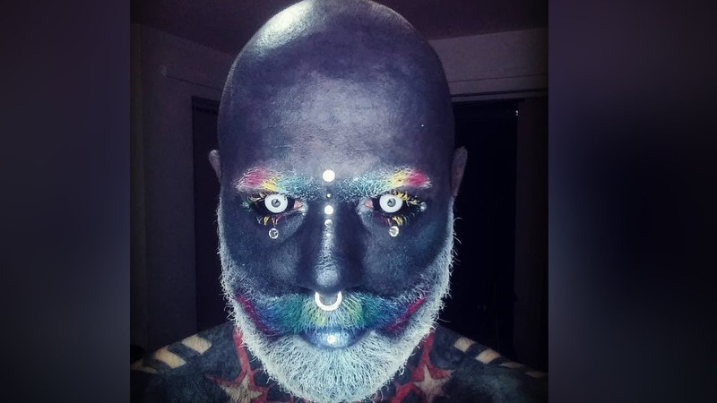This Fully Tattooed Man Is A Real Life White Walker
