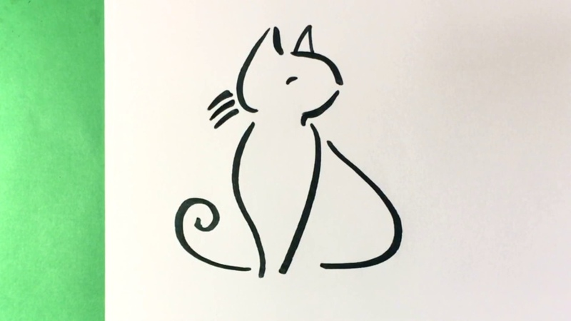 How to draw cute step by step easy learn how to draw easy things cat cats kitty kit adorable