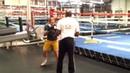 Roger Mayweather training Mikayla Nebel @ Mayweather Boxing Club 2/3