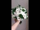 Свадебный букет из холодного фарфора, керамическая флористика Якиной Гульназ