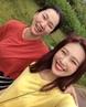 """장윤주 JANGYOONJU on Instagram: """"사랑스런 조이와 아침산책 중에 💋❤️ 오늘밤 10:30에 만나요. 46"""
