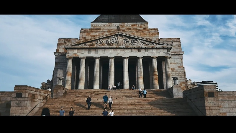 City of Melbourne Travel Australia iPhone X Cinematic 4K With Time Lapse