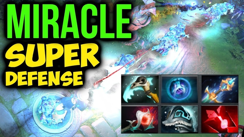 MIRACLE- Storm Spirit 65k Damage - Unbreakable Defense Dota2