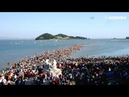 Моисеево чудо на острове Чиндо The Miracle on the Jindo Island