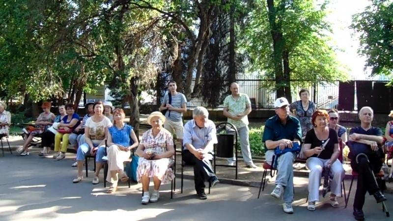 Один хороший вечер в парке Липки, где звучали песни В.Высоцкого и бардов прошлого века!..