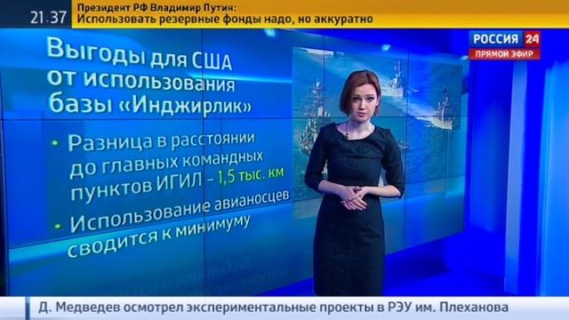 Новости на Россия 24 • Минобороны: Россия не планирует строить новую базу в Сирии