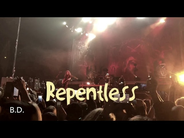 Slayer - Delusions of Saviour / Repentless - Live at Oslo Spektrum - 06.12.18 with Phil Demmel - 4K