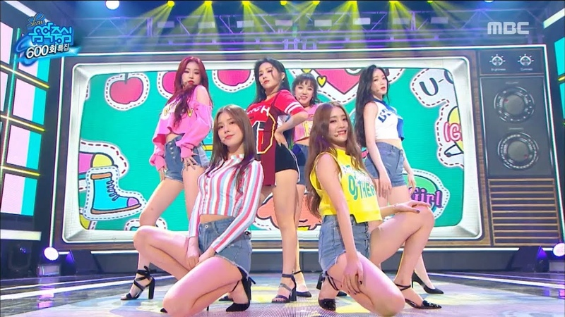 [Special Stage](G)I-DLE - U-Go-Girl,(여자)아이들 - U-Go-Girl Show Music core 20180811