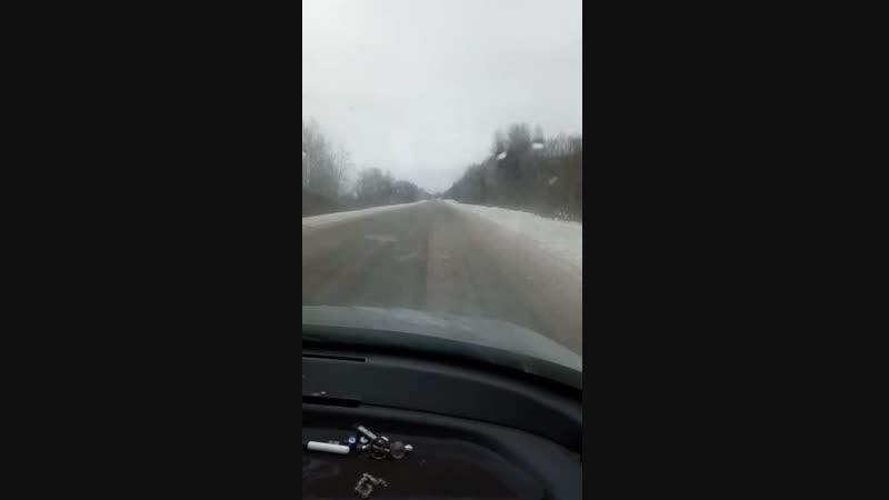 Как чистят дороги в Гдовском районе. А чистят ли?