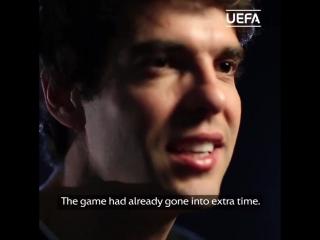 Кака выбрал три своих лучших гола