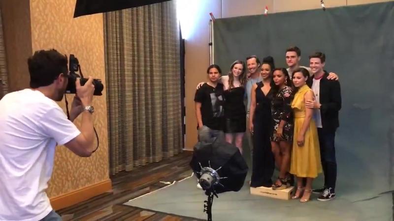 2018 — Фотосессия для «Los Angeles Times»