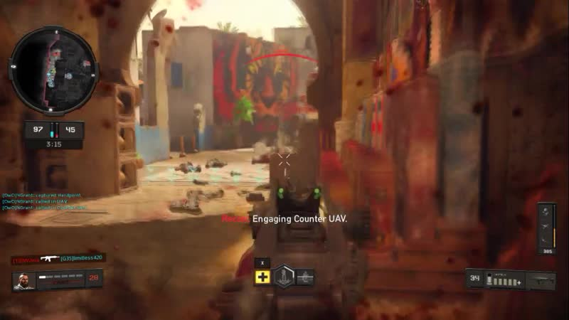 A flankers wet dream. Black Ops 4
