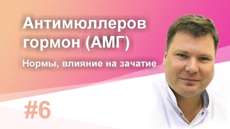 ⭐ Антимюллеров гормон (АМГ) норма, повышен, влияние на зачатие