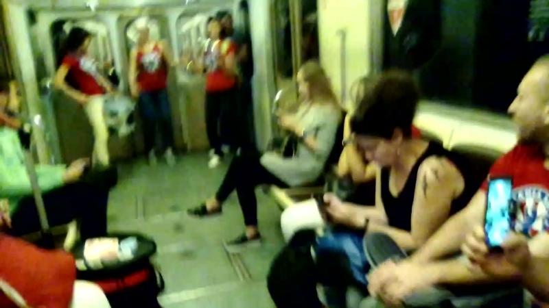 Samba real в метро