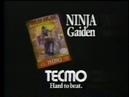 Ninja Gaiden 1 Commercial TNU1 / NR1 / SW1 Advert