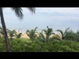 утро, пляж Саньябэй