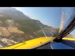 Circling Approach (Кальви, Корсика, Франция).
