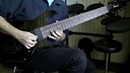 Ibanez RG8 8 Strings Demo (Lead)