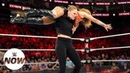 The «Jean» Ronda Rousey charges from the crowd in Extreme Rules Match WWE Now
