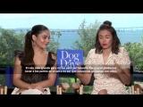 Vanessa Hudgens and Nina Dobrev talk Dog days, favorite spanish words and more