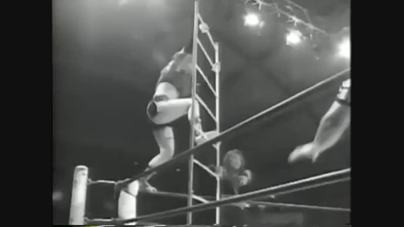 1997 06 18 AJW match Mima Shimoda, Etsuko Mita Vs Kumiko Maekawa, Tomoko Watanabe