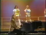 abba Agnetha turning her back to the Camera