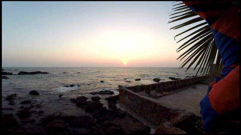 Индия Goa. Morjim beach.